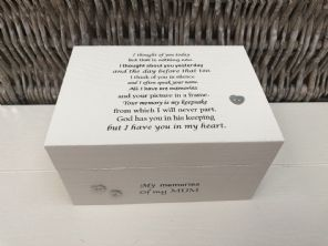 Personalised In Memory Of Box Loved One ~ MUM ~ MAM ~ any Name Bereavement Loss - 332624120921